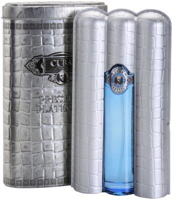 Cuba Prestige Platinum eau de toilette para hombre 1