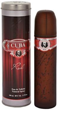 Cuba Red eau de toilette férfiaknak