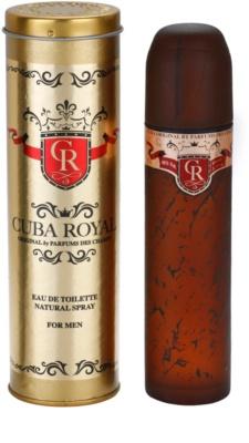 Cuba Royal Eau de Toilette pentru barbati