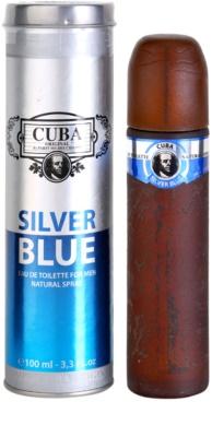Cuba Silver Blue eau de toilette férfiaknak