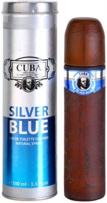 Cuba Silver Blue Eau de Toilette pentru barbati