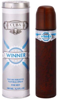 Cuba Winner eau de toilette férfiaknak