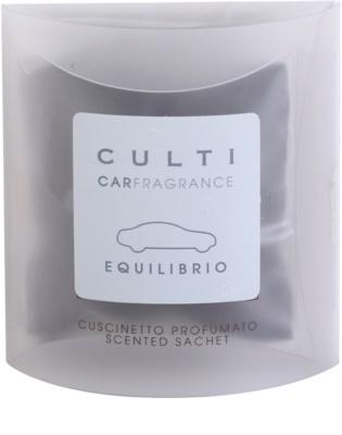 Culti Car aромат для авто   міні упаковка  (Equilibrio/ Thé)