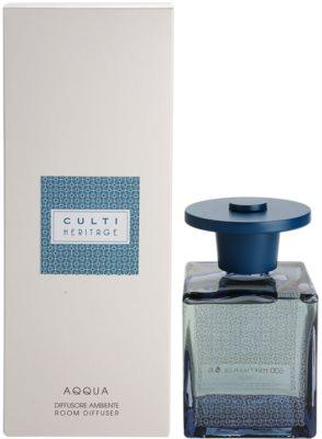Culti Heritage Blue Arabesque aroma difusor com recarga  embalagem menor (Aqqua)