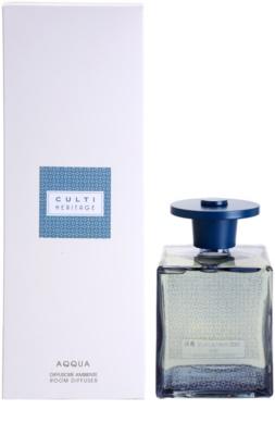 Culti Heritage Blue Arabesque difusor de aromas con el relleno   (Aqqua)