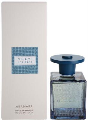 Culti Heritage Blue Arabesque Aroma Diffuser mit Nachfüllung  kleinere Packung (Aramara)