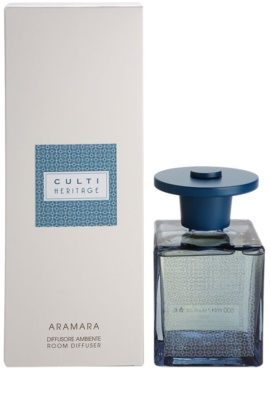 Culti Heritage Blue Arabesque Aroma Diffuser With Refill  Smaller Pack (Aramara)
