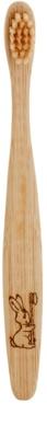 Curanatura Junior bambusova zobna ščetka za otroke ekstra soft