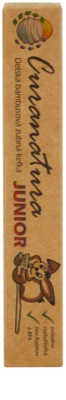 Curanatura Junior Kinderzahnbürste aus Bambus extra soft 2