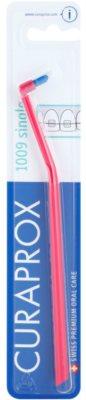 Curaprox 1009 Single cepillo de dientes individual para usuarios de aparatos fijos