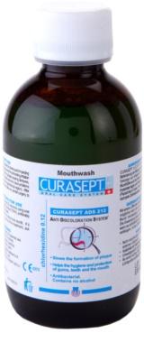Curaprox Curasept ADS 212 antibakterielles Mundwasser gegen Zahnfleischentzündung und Paradontose
