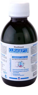 Curaprox Curasept ADS 220 elixir bucal antibacteriano para antes e após a cirurgia