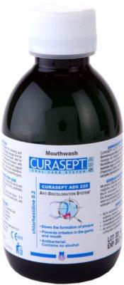 Curaprox Curasept ADS 220 антибактериална вода за уста за пред и след хирургична намеса