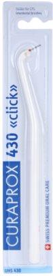 Curaprox Click UHS 430 professzionális műanyag fogköztisztító kefe tartó