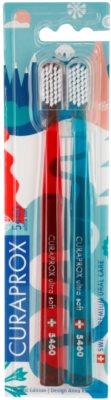 Curaprox 5460 Ultra Soft Winter Edition cepillo de dientes 2 uds