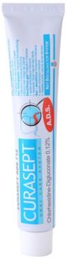 Curaprox Curasept ADS 712 antibakterielle Gel-Zahncreme nach chirurgischen Eingriffen