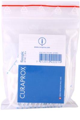 Curaprox Flosspic DF 967 Zahnseide und Zahnstocher alles in einem 1