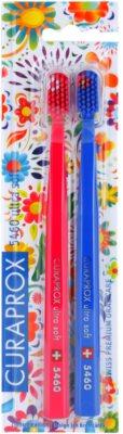 Curaprox 5460 Ultra Soft Hawai Edition szczoteczki do zębów 2 szt.