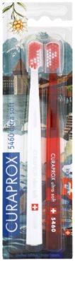 Curaprox 5460 Ultra Soft Swiss Edition - Luzern fogkefék 2db