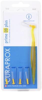 Curaprox Prime Plus резервни четки за междузъбно пространство 5 бр + дръжка