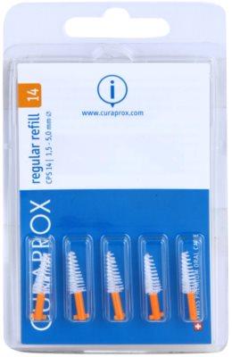 Curaprox Regular Refill CPS escovas interdentais cónicas em blister 5 pçs