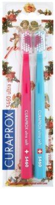 Curaprox 5460 Ultra Soft With Love fogkefék 2db