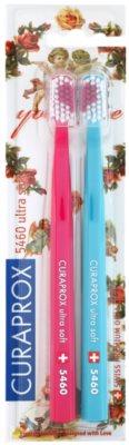 Curaprox 5460 Ultra Soft With Love zobne ščetke 2 kos
