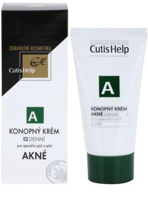 CutisHelp Health Care A - Acne kenderes nappali krém problémás és pattanásos bőrre 1