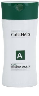 CutisHelp Health Care A - Acne konopljina čistilna emulzija za problematično kožo, akne