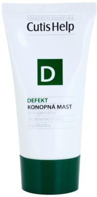 CutisHelp Health Care D - Defect мазь з екстрактом коноплі при пошкодженнях шкіри прискорює загоєння