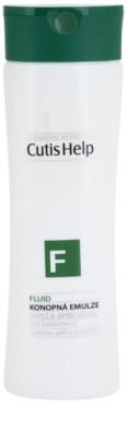 CutisHelp Health Care F - Fluid Dusch - und Reinigungsemulsion mit Hanf zur täglichen Anwendung