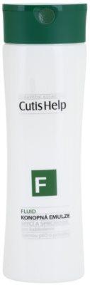 CutisHelp Health Care F - Fluid gel de ducha y baño de cáñamo para uso diario