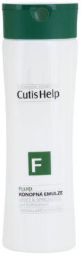 CutisHelp Health Care F - Fluid konopljina emulzija za prhanje za vsakodnevno uporabo