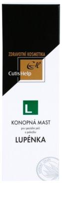 CutisHelp Health Care L - Psoriáza konopná masť proti psoriáze 2