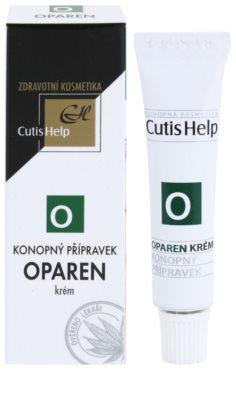 CutisHelp Health Care O - Oparen bálsamo de cáñamo para el herpes labial 1