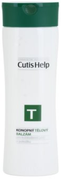CutisHelp Health Care T - Balm loção corporal de cânhamo para uso diário