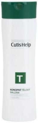 CutisHelp Health Care T - Balm lotiune de corp din canepa pentru utilizarea de zi cu zi