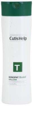 CutisHelp Health Care T - Balzam konopný telový balzam na každodenné použitie