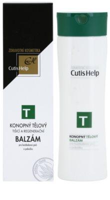 CutisHelp Health Care T - Balm lotiune de corp din canepa pentru utilizarea de zi cu zi 1