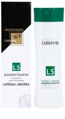 CutisHelp Health Care L.S - Psoriasis - Seborrhea champô de cânhamo contra a psoríase e dermatite seborreica 1