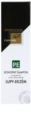 CutisHelp Health Care P.E - Lupy- Ekzém konopný šampon při projevech ekzému a proti lupům 2
