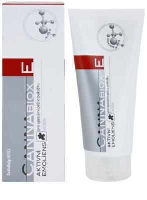 CutisHelp Medica CannaBiox E активна емульсія для алергічної шкіри при проявах екземи 1