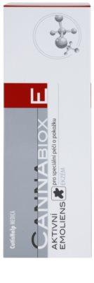 CutisHelp Medica CannaBiox E активна емульсія для алергічної шкіри при проявах екземи 2