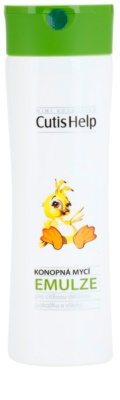 CutisHelp Mimi lotiune pentru curatare cu extract de canepa pentru nou-nascuti si copii