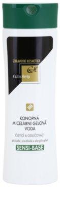CutisHelp Health Care Sensi-Base konopljina micelarna gelasta voda za občutljivo in alergično kožo