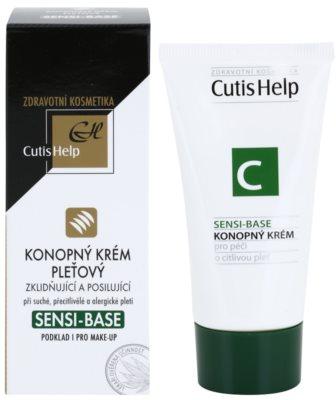CutisHelp Health Care Sensi-Base Hanfcreme für empfindliche und allergische Haut 1