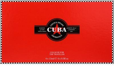 Czech & Speake Cuba dárková sada 2