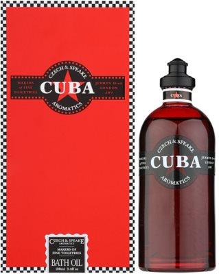 Czech & Speake Cuba aceite de ducha unisex