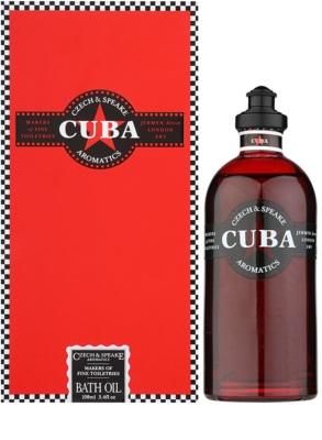 Czech & Speake Cuba ulei de dus unisex