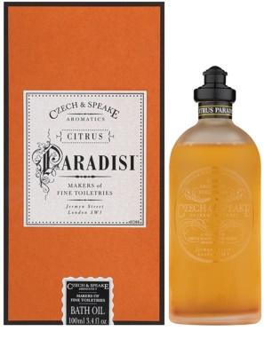 Czech & Speake Citrus Paradisi óleo de duche unissexo
